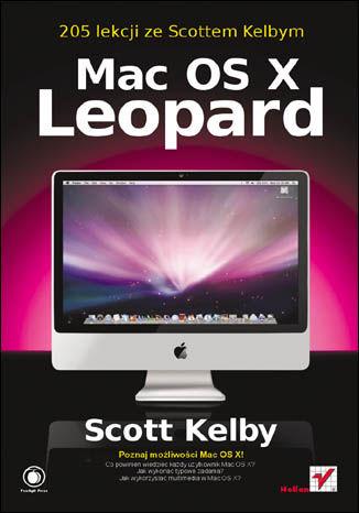 Okładka książki/ebooka Mac OS X Leopard. 205 lekcji ze Scottem Kelbym