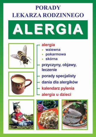 Okładka książki/ebooka Alergia. Porady lekarza rodzinnego