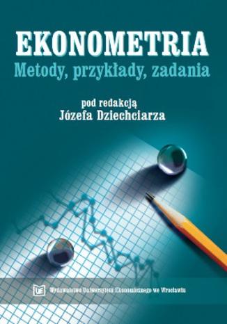 Okładka książki/ebooka Ekonometria - metody, przykłady, zadania