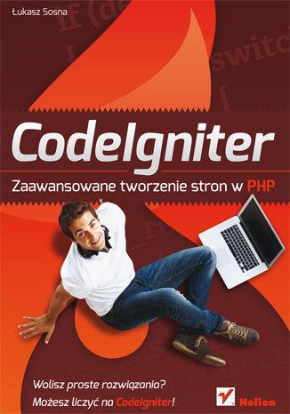 Okładka książki/ebooka CodeIgniter. Zaawansowane tworzenie stron w PHP