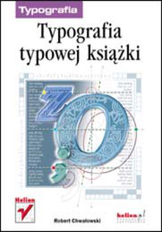 Okładka książki Typografia typowej książki