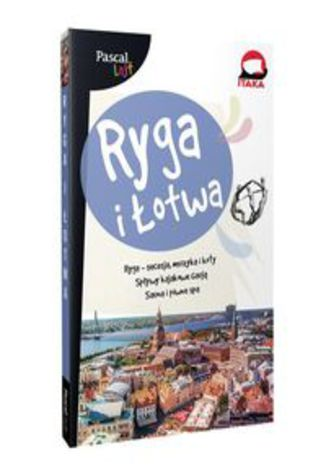 Okładka książki/ebooka Ryga i Łotwa PASCAL LAJT