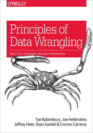 Okładka książki Principles of Data Wrangling. Practical Techniques for Data Preparation