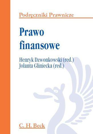 Okładka książki/ebooka Prawo finansowe