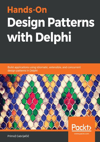 Okładka książki/ebooka Hands-On Design Patterns with Delphi