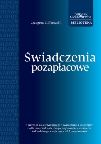 Okładka książki/ebooka Świadczenia pozapłacowe