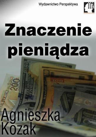 Okładka książki/ebooka Znaczenie pieniądza