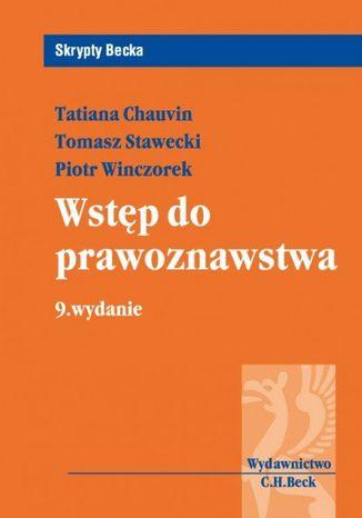 Okładka książki/ebooka Wstęp do prawoznawstwa