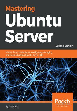 Okładka książki/ebooka Mastering Ubuntu Server