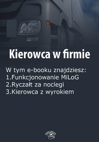 Okładka książki/ebooka Kierowca w firmie, wydanie listopad 2015 r