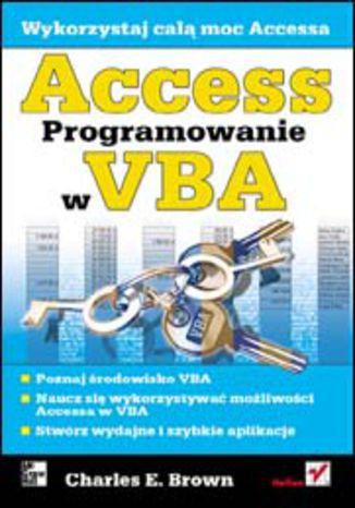 Okładka książki/ebooka Access. Programowanie w VBA
