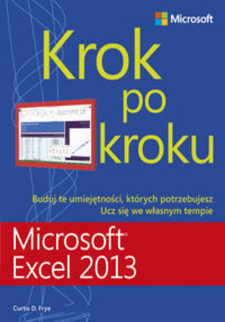 Okładka książki Microsoft Excel 2013. Krok po kroku