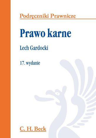 Okładka książki/ebooka Prawo karne