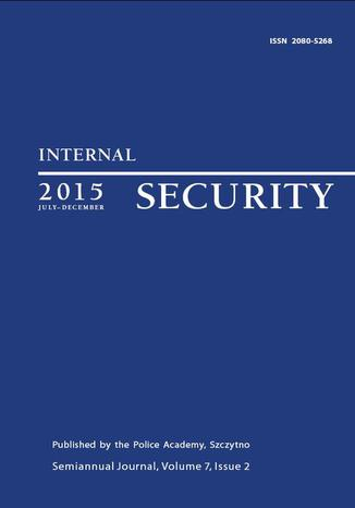 Okładka książki/ebooka Internal Security (July-December) Vol. 7/2/2015