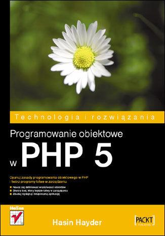 Okładka książki/ebooka Programowanie obiektowe w PHP 5