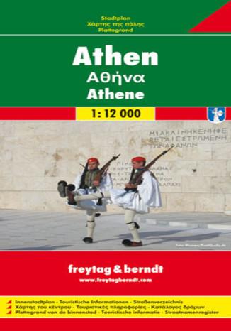 Okładka książki/ebooka Ateny. Mapa Freytag & Berndt 1:12 000