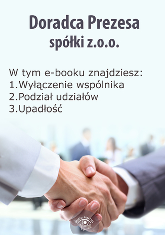 Okładka książki/ebooka Doradca Prezesa spółki z o.o., wydanie maj-czerwiec 2014 r