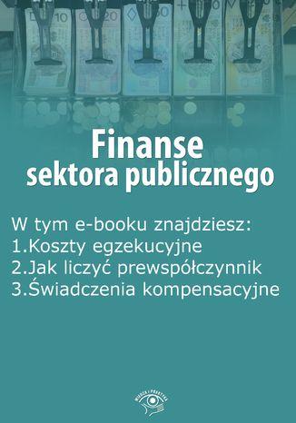Okładka książki/ebooka Finanse sektora publicznego, wydanie grudzień 2015 r