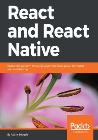 Okładka książki/ebooka React and React Native