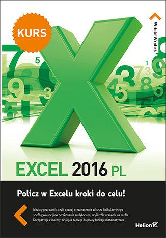 Okładka książki Excel 2016 PL. Kurs