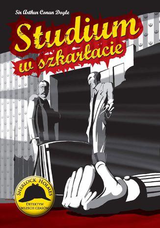 Okładka książki/ebooka Studium w szkarłacie