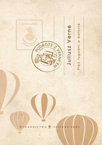 Okładka książki/ebooka Pięć tygodni w balonie