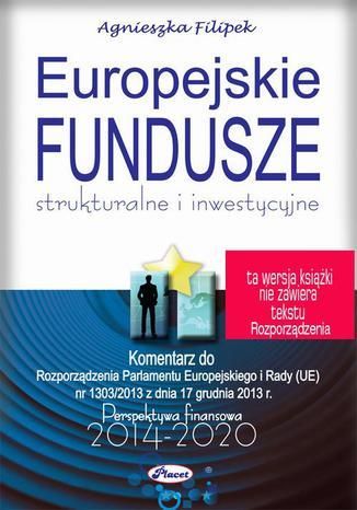 Okładka książki/ebooka Europejskie fundusze 2014-2020 strukturalne i inwestycyjne