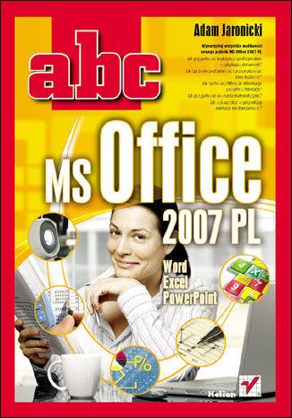 Okładka książki/ebooka ABC MS Office 2007 PL