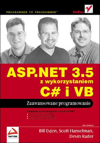 Okładka książki/ebooka ASP.NET 3.5 z wykorzystaniem C# i VB. Zaawansowane programowanie