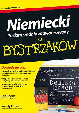 Okładka książki Niemiecki dla bystrzaków. Poziom średnio zaawansowany
