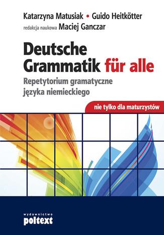 Okładka książki/ebooka Deutsche Grammatik für alle