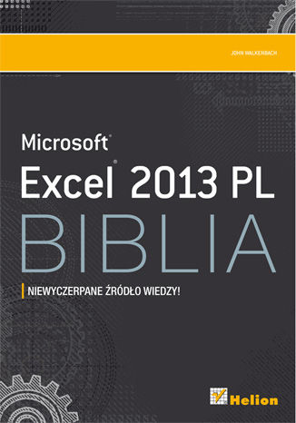 Okładka książki/ebooka Excel 2013 PL. Biblia