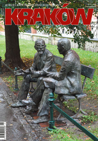 Okładka książki/ebooka Miesięcznik Kraków, listopad 2016