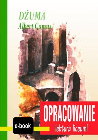 Okładka książki/ebooka Dżuma (Albert Camus) - opracowanie