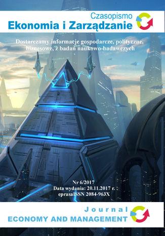 Okładka książki Czasopismo Ekonomia i Zarządzanie nr 6/2017