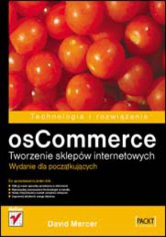 Okładka książki/ebooka osCommerce. Tworzenie sklepów internetowych. Wydanie dla początkujących