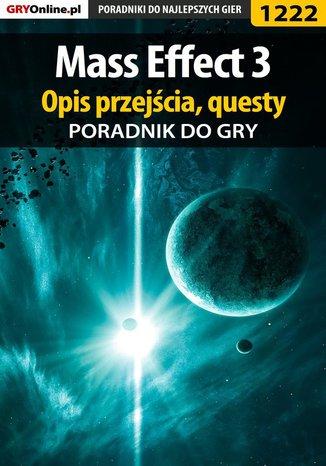 Okładka książki/ebooka Mass Effect 3 - poradnik do gry