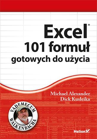Okładka książki/ebooka Excel. 101 formuł gotowych do użycia