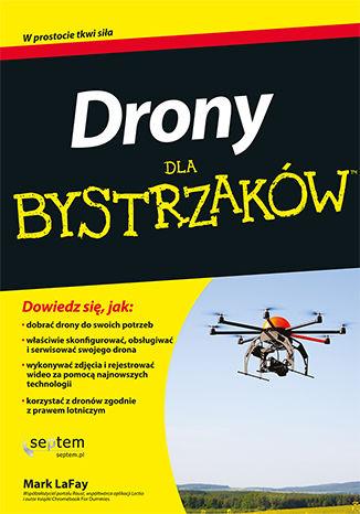 Okładka książki/ebooka Drony dla bystrzaków