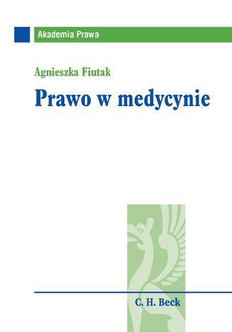 Okładka książki/ebooka Prawo w medycynie