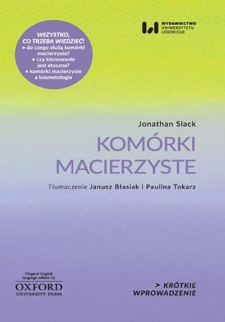 Okładka książki/ebooka Komórki macierzyste. Krótkie Wprowadzenie 7