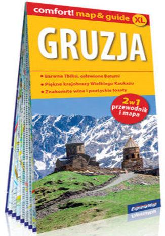 Okładka książki/ebooka Gruzja laminowany map&guide XL (2w1: przewodnik i mapa)
