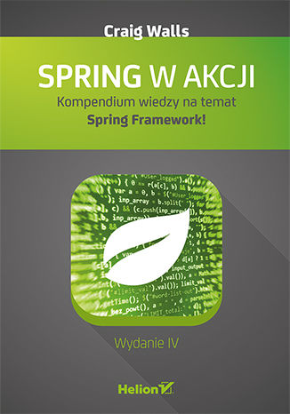 Okładka książki/ebooka Spring w akcji. Wydanie IV