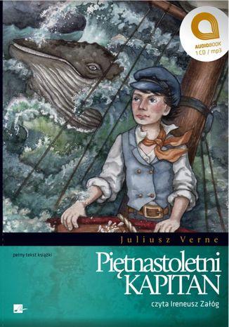 Okładka książki/ebooka Piętnastoletni kapitan