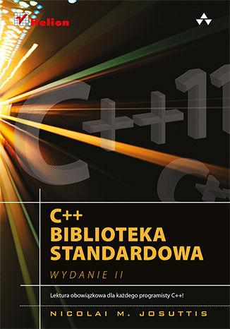 Okładka książki/ebooka C++. Biblioteka standardowa. Podręcznik programisty. Wydanie II