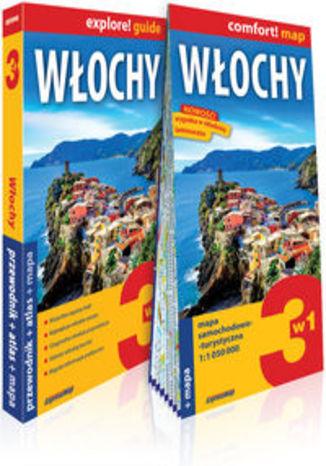 Okładka książki/ebooka Włochy 3w1 przewodnik + atlas + mapa. explore! guide