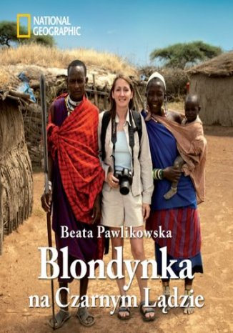 Okładka książki/ebooka Blondynka na Czarnym Lądzie (oprawa twarda)