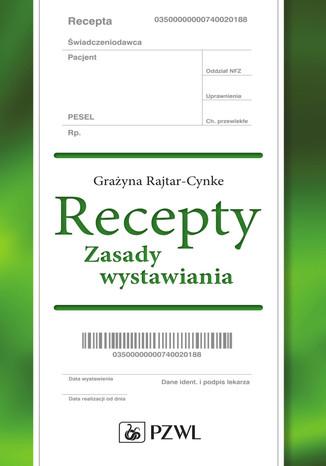 Okładka książki/ebooka Recepty. Zasady wystawiania