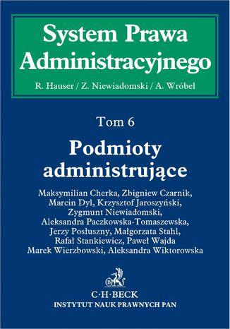 Okładka książki/ebooka Podmioty administrujące. Tom 6