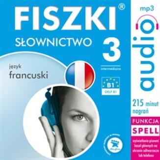 Okładka książki FISZKI audio  j. francuski  Słownictwo 3